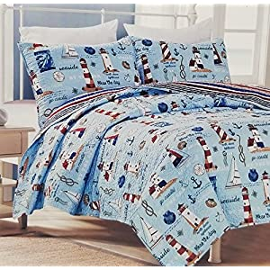 61E8V%2BauX6L._SS300_ Nautical Bedding Sets & Nautical Bedspreads