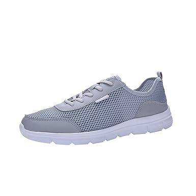 047e86d6b6d81a AIMEE7_Chaussure de Randonnée Basses Homme Pas Cher Comfortable Baskets  Basses Lacets Sneakers Courtes Mode Chaussure de Sport en Plein Air:  Amazon.fr: ...