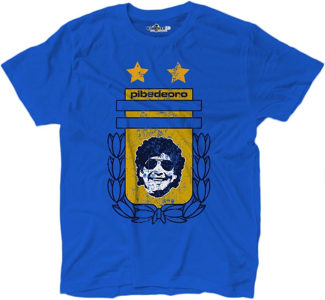 Camiseta camiseta fútbol Vita de Strada del Pibe de Oro Argentina Grunge 1, KTS01713_XXL, Bright Royal, XX-Large: Amazon.es: Deportes y aire libre