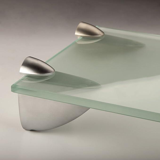 SO-TECH® Soporte para estantería de cristal PELIKAN (mediano) cromo mate: Amazon.es: Bricolaje y herramientas