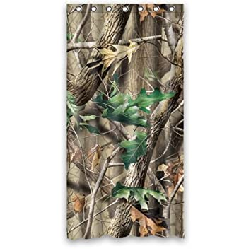 Curtains Ideas cheap camo curtains : Amazon.com: Custom Camo Tree Camouflage s Fabric Window Curtains ...