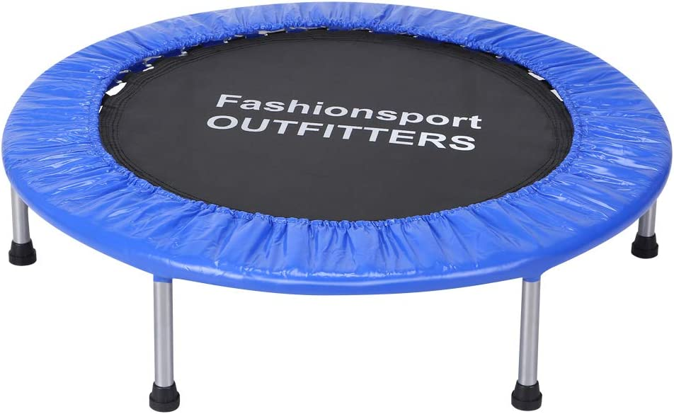 Fashionsport OUTFITTERS Trampoline-38 Portable Trampoline for Kids-38 Green