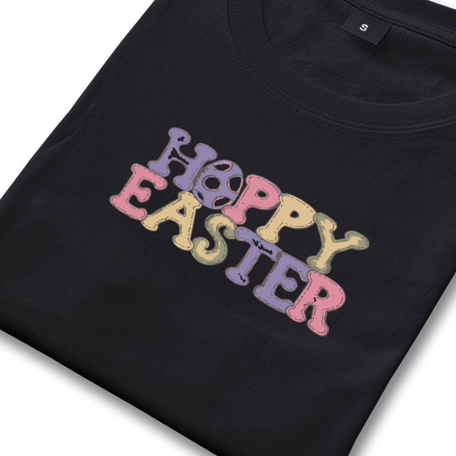 Mens Good Friday Happy Easter Round Neck T-Shirts,Summer Casual Short Sleeve Tee