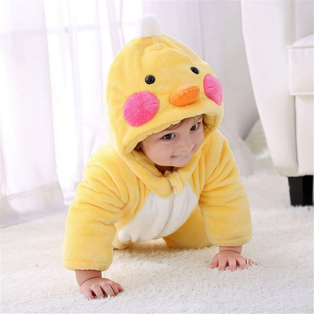 Amazon.com : QSEFT Baby Girl Clothes Animal Baby Rompers Costume ...