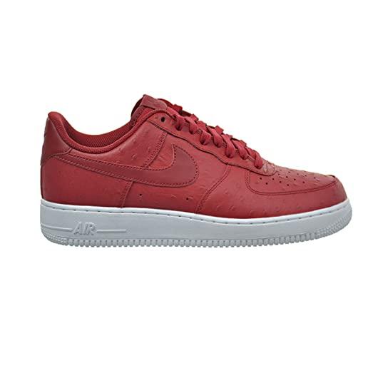 Nike Air Force 1 '07 LV8 Men's Shoes Gym Red/White/Gym