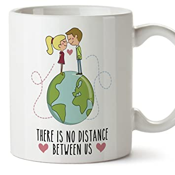 taza de café regalo para la pareja de enamorados regalo original