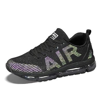 online retailer ba27f 92471 TORISKY Unisex Sportschuhe Herren Damen Laufschuhe Sneakers Turnschuhe  Fitness Mesh Air Leichte Schuhe Rot Schwarz Weiß