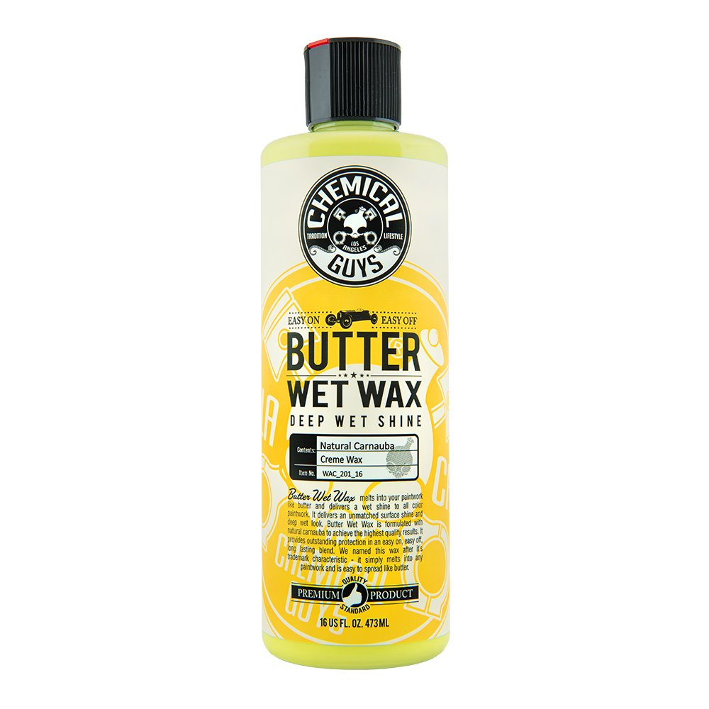 6. Chemical Guys WAC-201-16 Butter Wet Wax (16 oz)