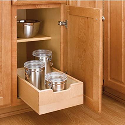 Rev-A-Shelf RS4WDB.15 Wood Pullout Drawers
