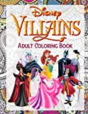 Book cover from Disney Villains Coloring Book: Exclusive High Quality Images For Adult Relaxation by Antistress Coloring