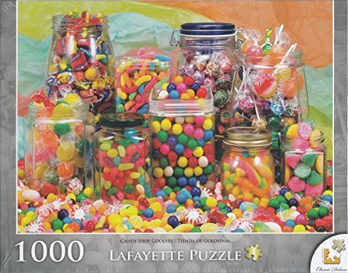 Candy Shop Goodies 1000 Piece Puzzle by George