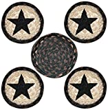 Earth Rugs 29-CB313BS Coaster Set, 5