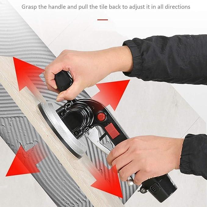 herramientas autom/áticas de colocaci/ón de pisos: adsorci/ón m/áxima de 100 kg azulejos de piso y azulejos de pared m/áquinas vibratorias m/áquinas de azulejos PoJu Azulejos de azulejos
