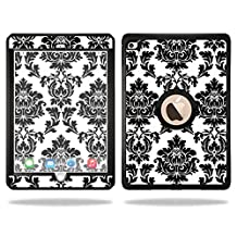 Mightyskins Protective Vinyl Skin Decal Cover for OtterBox Defender Apple iPad Air 2 wrap sticker skins Vintage Damask