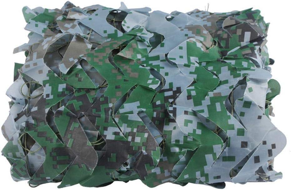 3x5m Carl Artbay Markisenplane Digital WaldlandCamo Netting, Tarnnetz, Heer Neting, Militär Nets, Sonnensegel, Sonnenschutz Netze for Camping Militär-Jagd-S eßen Mehrfarbensonnenschutz Nets Camouflage