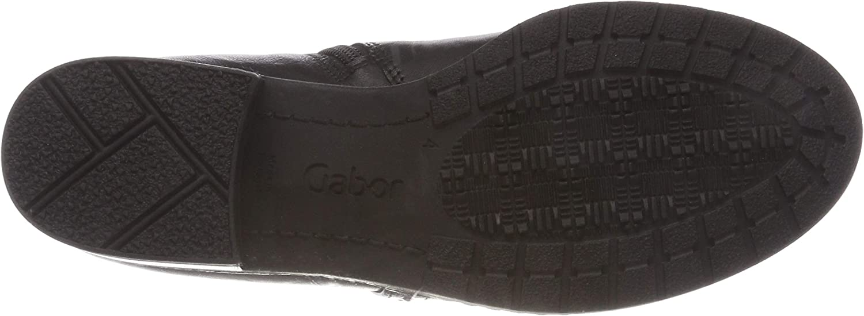 Gabor Shoes Comfort Sport, Botines Femme Noir Schwarz Micro 17