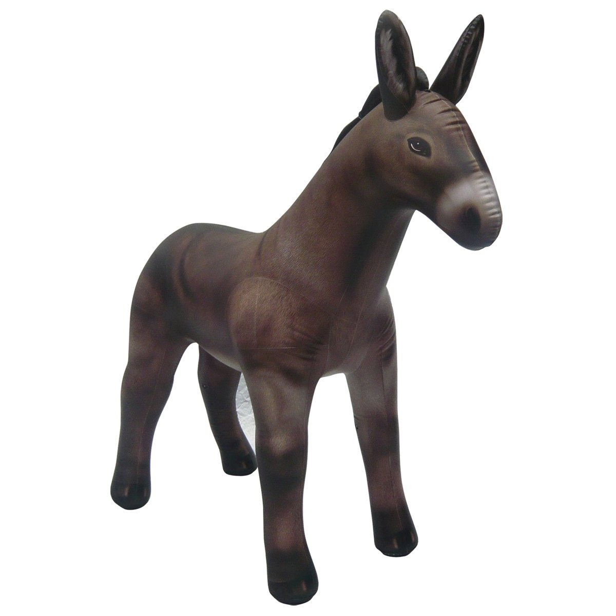 Inflatable Lifelike Life Size Replica Donkey, 70'' Tall