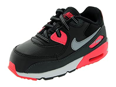 462cdd06147ff Toddlers NIKE AIR MAX 90 Leather Trainers 408110 080 Clothes