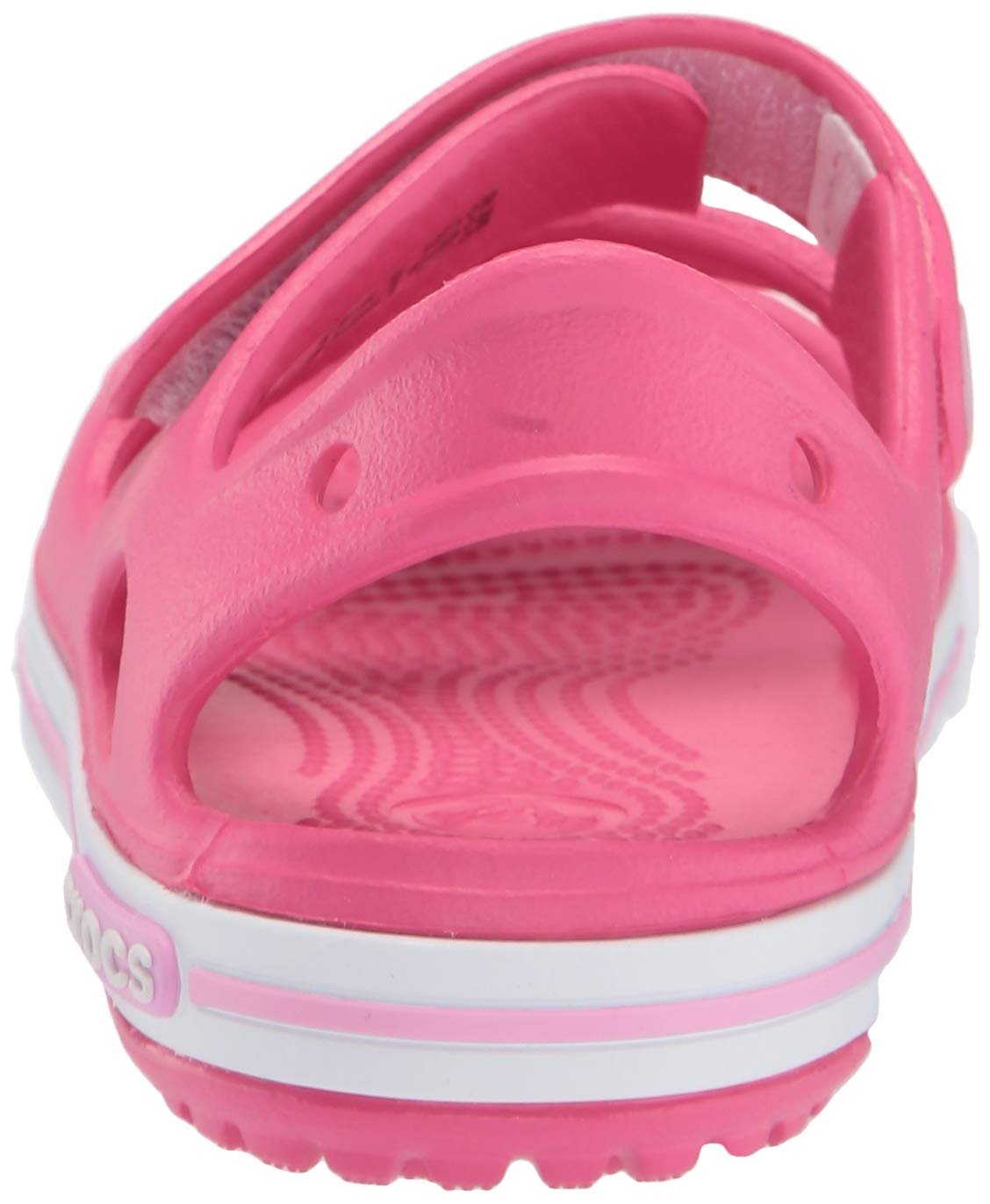 Crocs Kid's Boys and Girls Crocband II Sandal | Pre School, Paradise Pink/Carnation 6 M US Toddler by Crocs (Image #2)