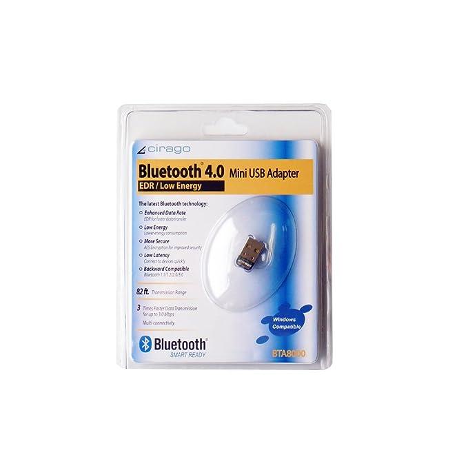 Cirago Bluetooth 4 0 USB Mini Adapter (BTA8000)