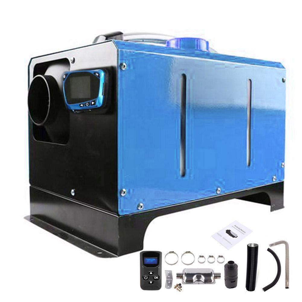 Dynamicoz Riscaldatore Diesel da 5KW 12V // 24V Riscaldatore dAria per Riscaldamento Adatto per Camper Auto Camion Barca Rimorchio