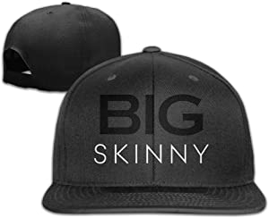 Yishuo Men Womens BS Black Cool Basketball White Hats Adjustable Snapback