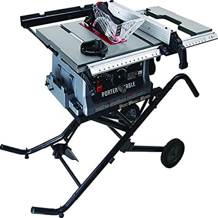 Jobsite table saw with fold and roll stand 10 amazon jobsite table saw with fold and roll stand 10quot greentooth Gallery