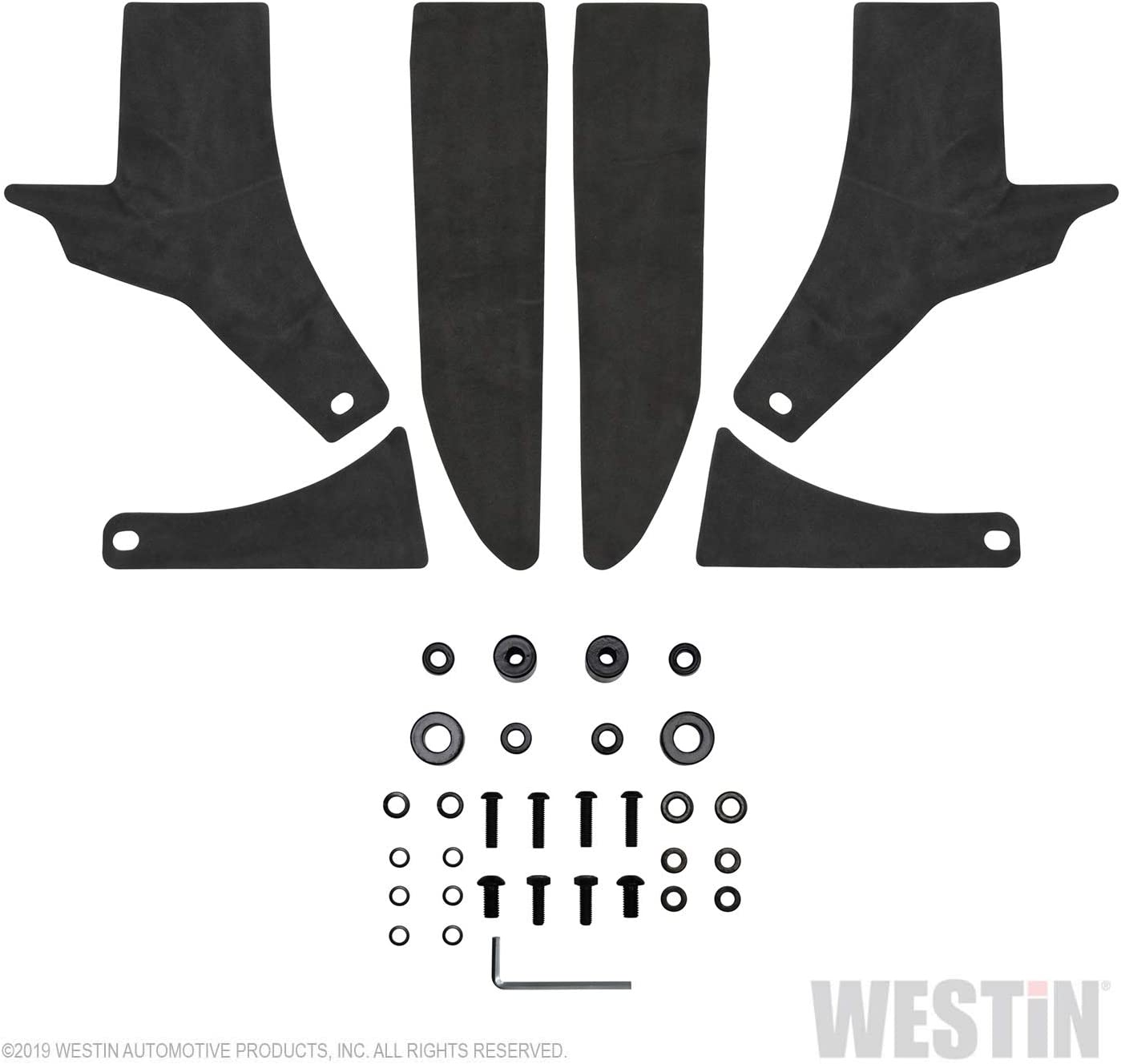 Westin 62-41085 Textured Black LED Mount