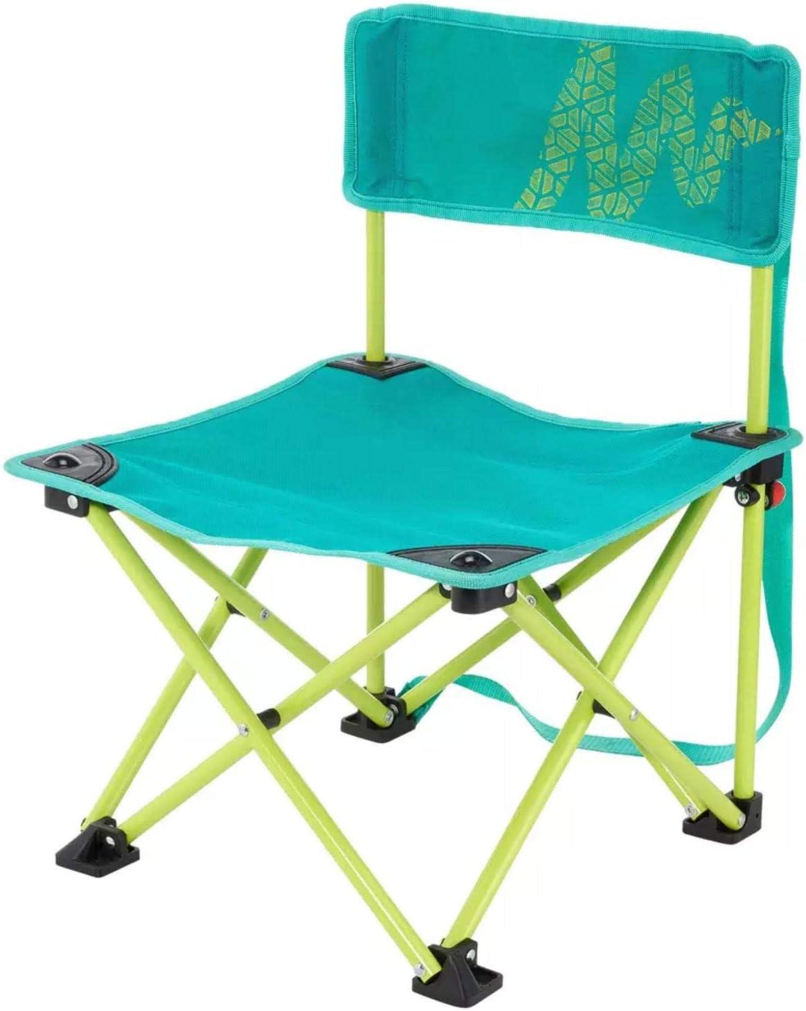 Quechua - Silla de camping para niños, color verde: Amazon ...
