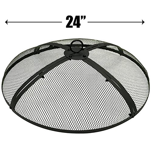 (EasyGoProducts EGP-FIRE-002 EasyGo 24 INCH Pit Cover - FIRE Screen Protector, 24