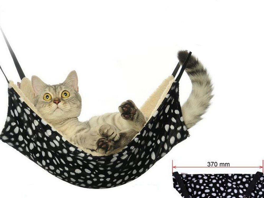 ALINT Cómodo gato mascota rata hamaca jaula colgante cama