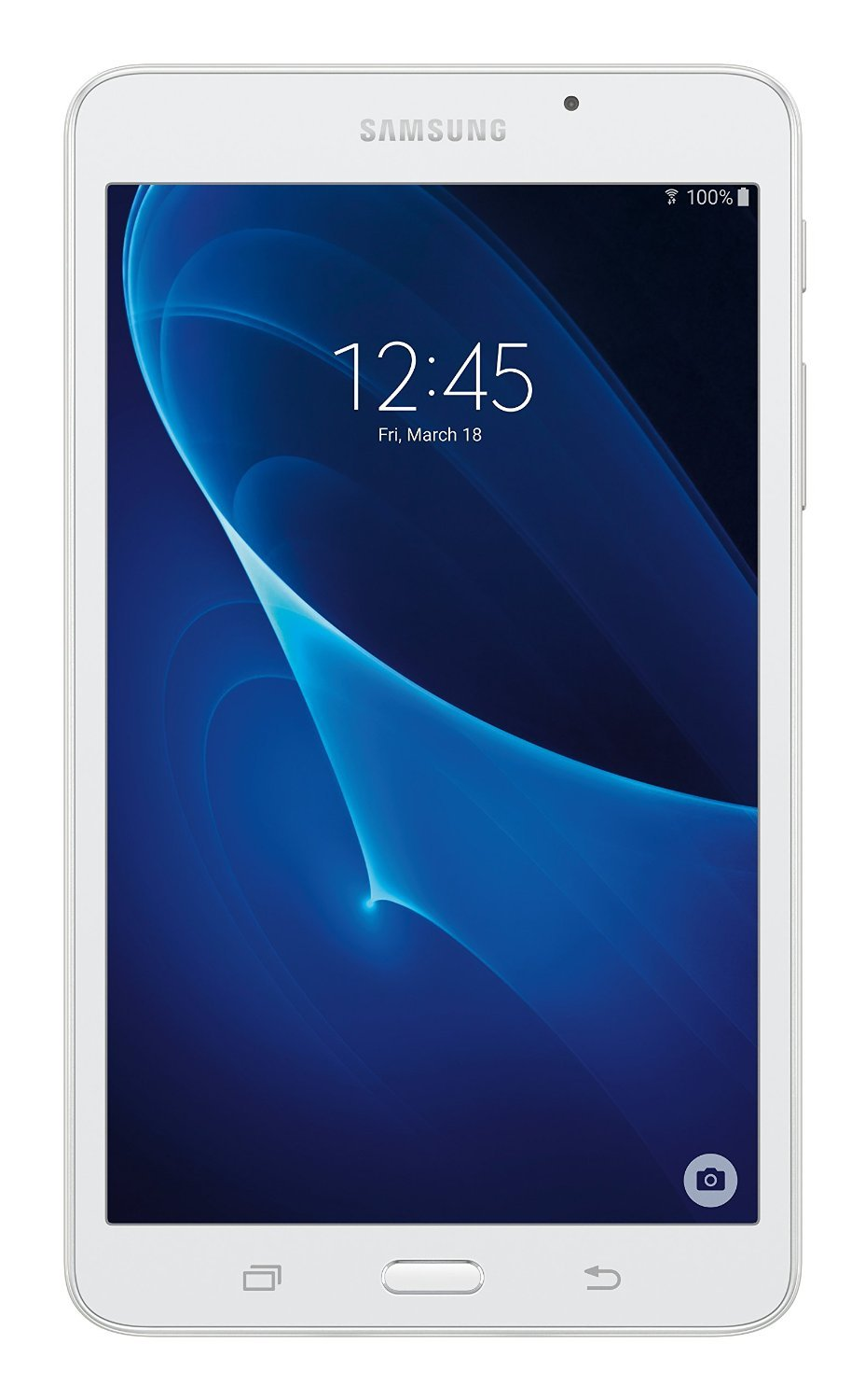 Samsung Galaxy Tab A 7-Inch Tablet (8 GB, White) Certified Refurbished