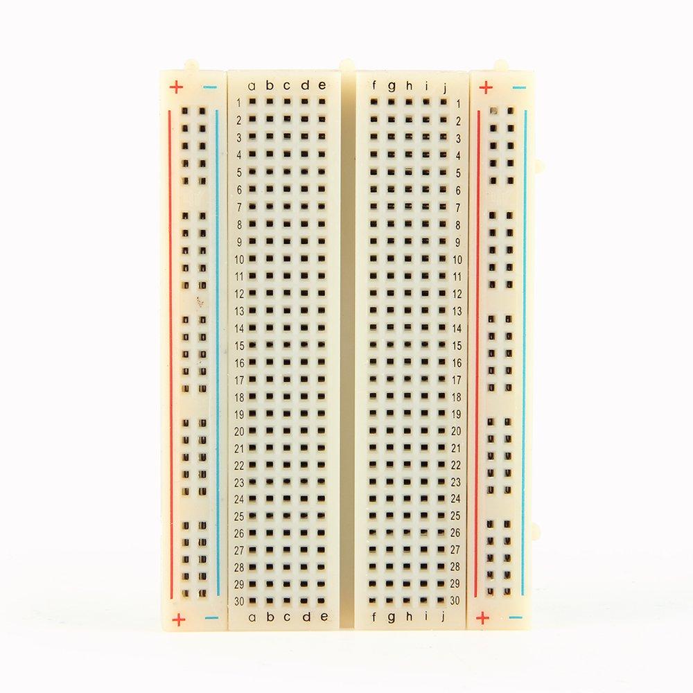 3pcs Mini Solderless Breadboard 400 Ties Clear Circuit Pcb Board Prototyping Software Kit For Proto Shield Circboard Industrial Scientific