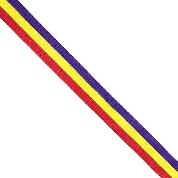Durabol Cinta 1 Metro Bandera Republicana Republica España Pulseras Lazos Pulsera Bandera Republicana: Amazon.es: Jardín