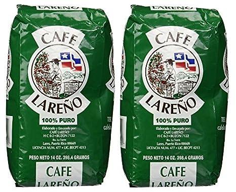 Café Lareño Termo Café Puerto Rican 2 Bolsas de 14oz Cada ...