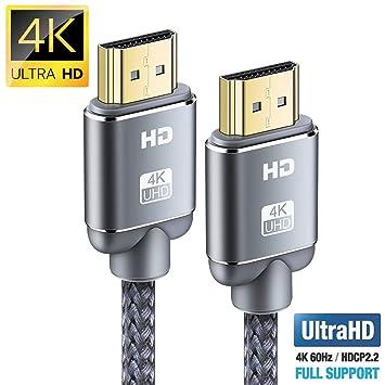Cable HDMI 4K 2m-Snowkids Cable HDMI 2.0 de Alta Velocidad Trenzado on fuse demo review, fuse box art, fuse world,