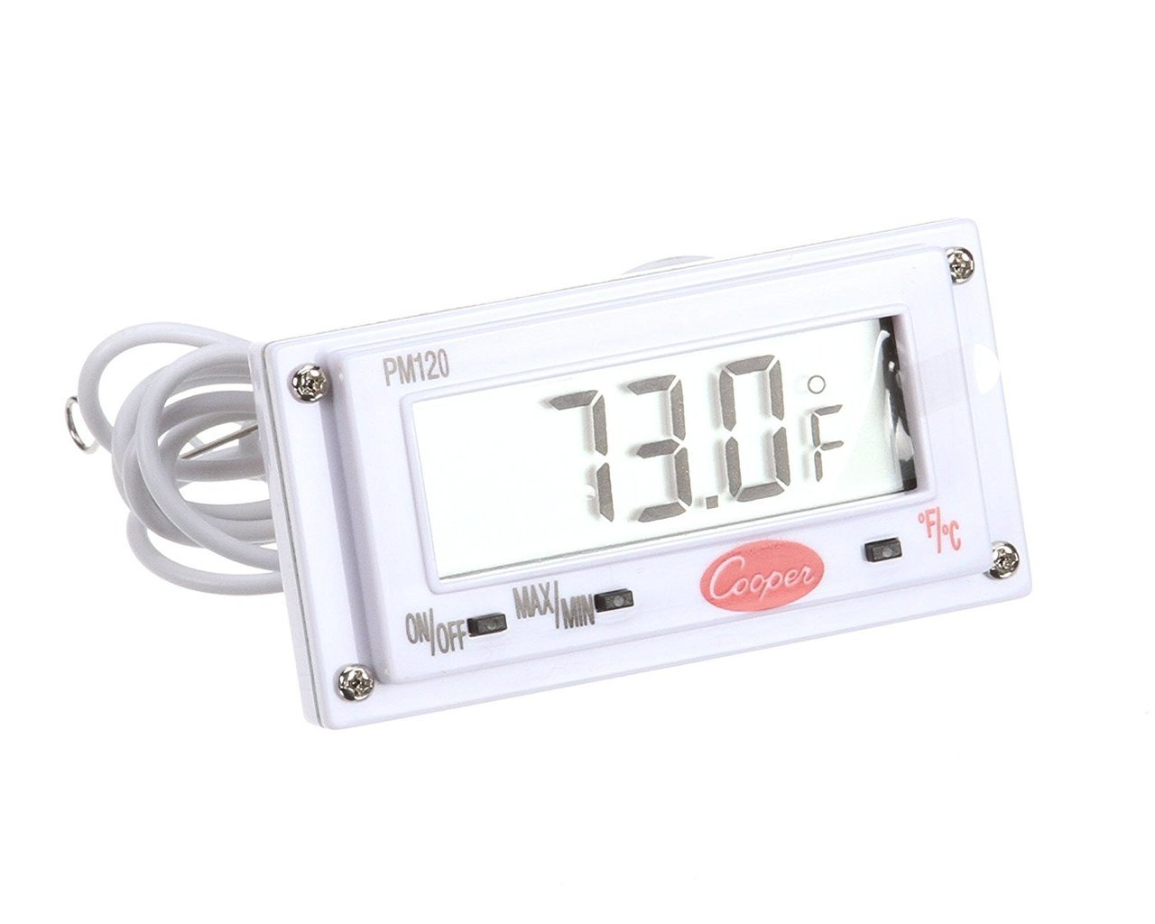 Bulk Digital Panel Thermometer 2.6x1.4-40/120°F/°C: Cooper Atkins PM120-0-8 (58 Panel Thermometers)