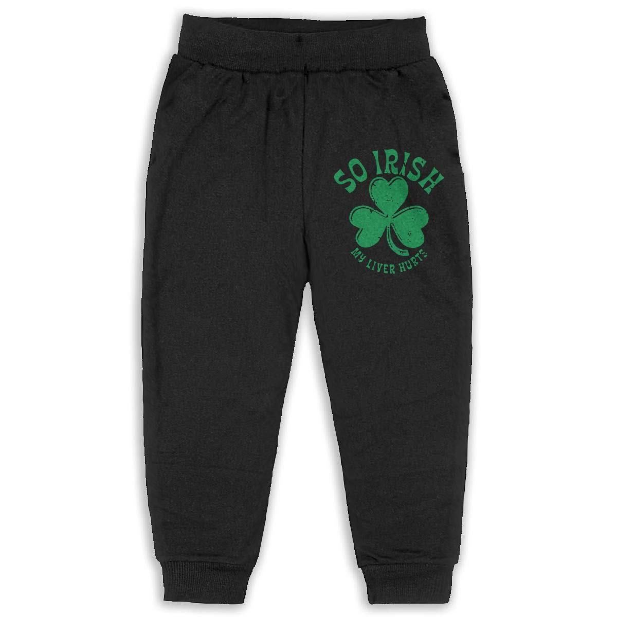 Udyi/&Jln-97 SO Irish My Liver Hurts Kids /& Toddler Sweatpants Soft Cozy Girls Boys Jersey Pant