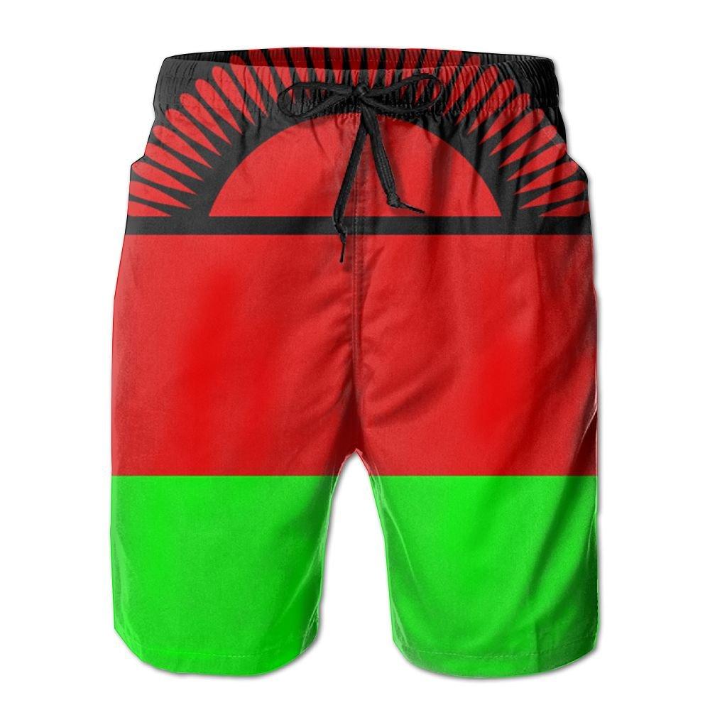 Malawi Flag Sport Shorts For Men