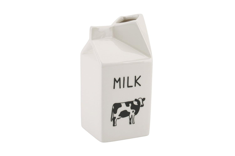 Jarra de novedad dise/ño de cart/ón de leche jarra cer/ámica dise/ño novedad 418