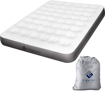 Amazon.com: Etekcity Colchón de aire para camping, tamaño ...