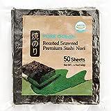 Dried Kelp Seaweed 100 Sheets Sushi Nori From Korea, Healthy Diet Food by Wando Kim