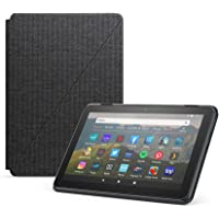 Amazon Fire HD 8 Tablet Cover, Compatible with 10th generation tablet, 2020 release, Charcoal Black