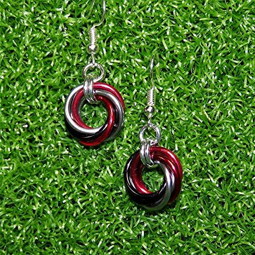 Tampa Bay Buccaneers Themed Earrings