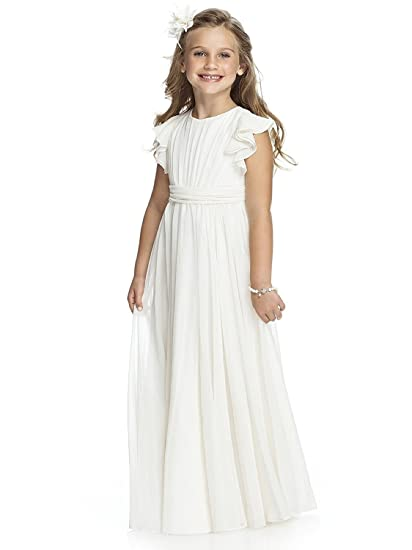 59be5694 QYC Fancy Girls First Communion Dresses 2018 New 1-12 Year Old Ivory Size 4