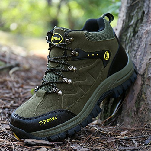 Waterproof Boots Hiking Low Women's Mastery Outdoor Trekking Men's Shoes Men Rise Climbing Walking Women Green for H Camping Bnx0wHCtqw