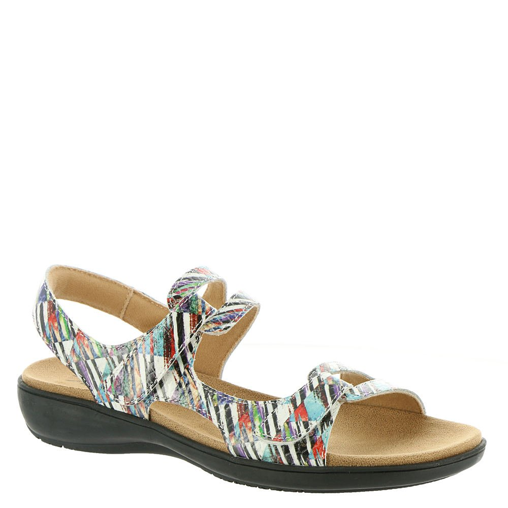 Trotters Womens Katarina Open Toe Casual Ankle Strap Sandals B078YZ9JPZ 9.5 C/D US|Blue-multi