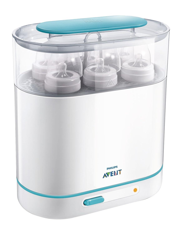 Philips dampfsterilisator sterilisator baby sfc284-02 3 flaschen x 330ml flaschen in 1-6