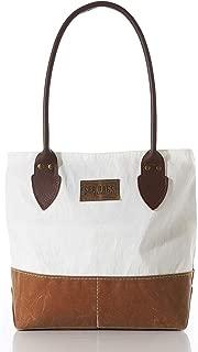 product image for Sea Bags Recycled Sail Cloth Tan Chebeague Handbag