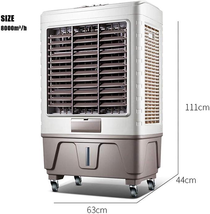 YWARX Climatizador Nebulizador, Ventilador Evaporativo 3 ...
